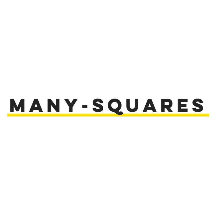 Official Logo for Many Squares