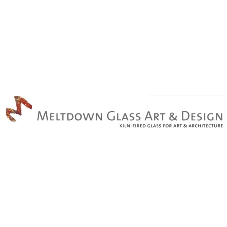 Official Logo for Meltdown Glass Art & Design