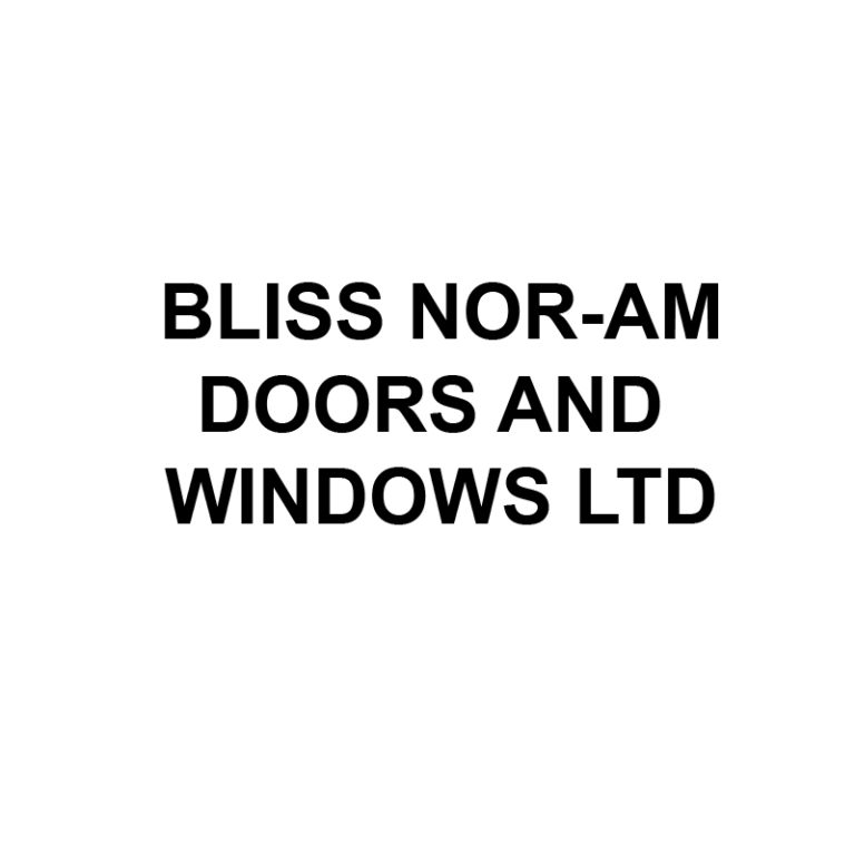 Official Logo for Bliss Nor-Am Doors and Windows Ltd.