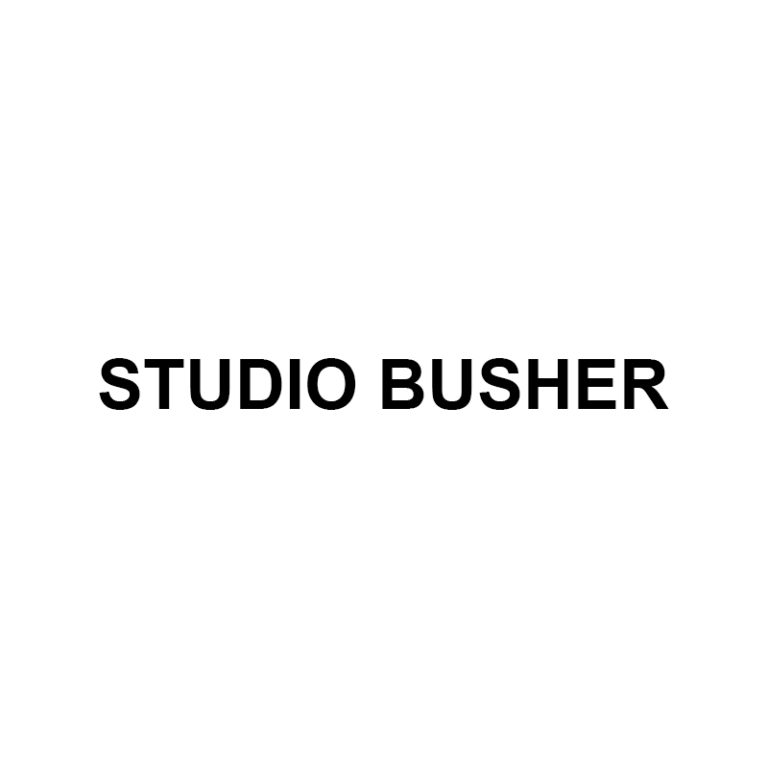 Official Logo for Studio Busher