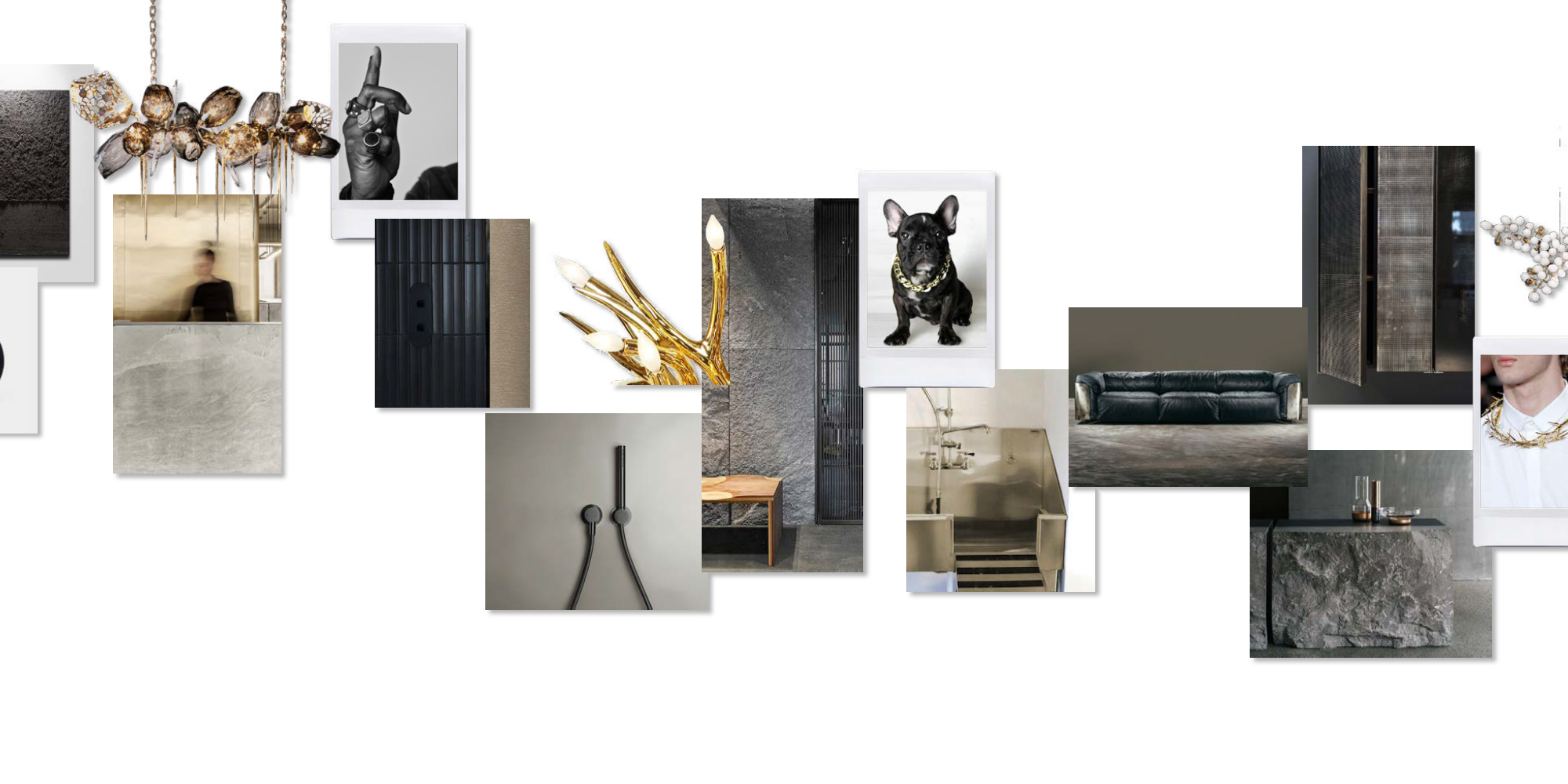 Fusing black and gold with a rock edge, the residences at 120 Church embody urban dynamism.