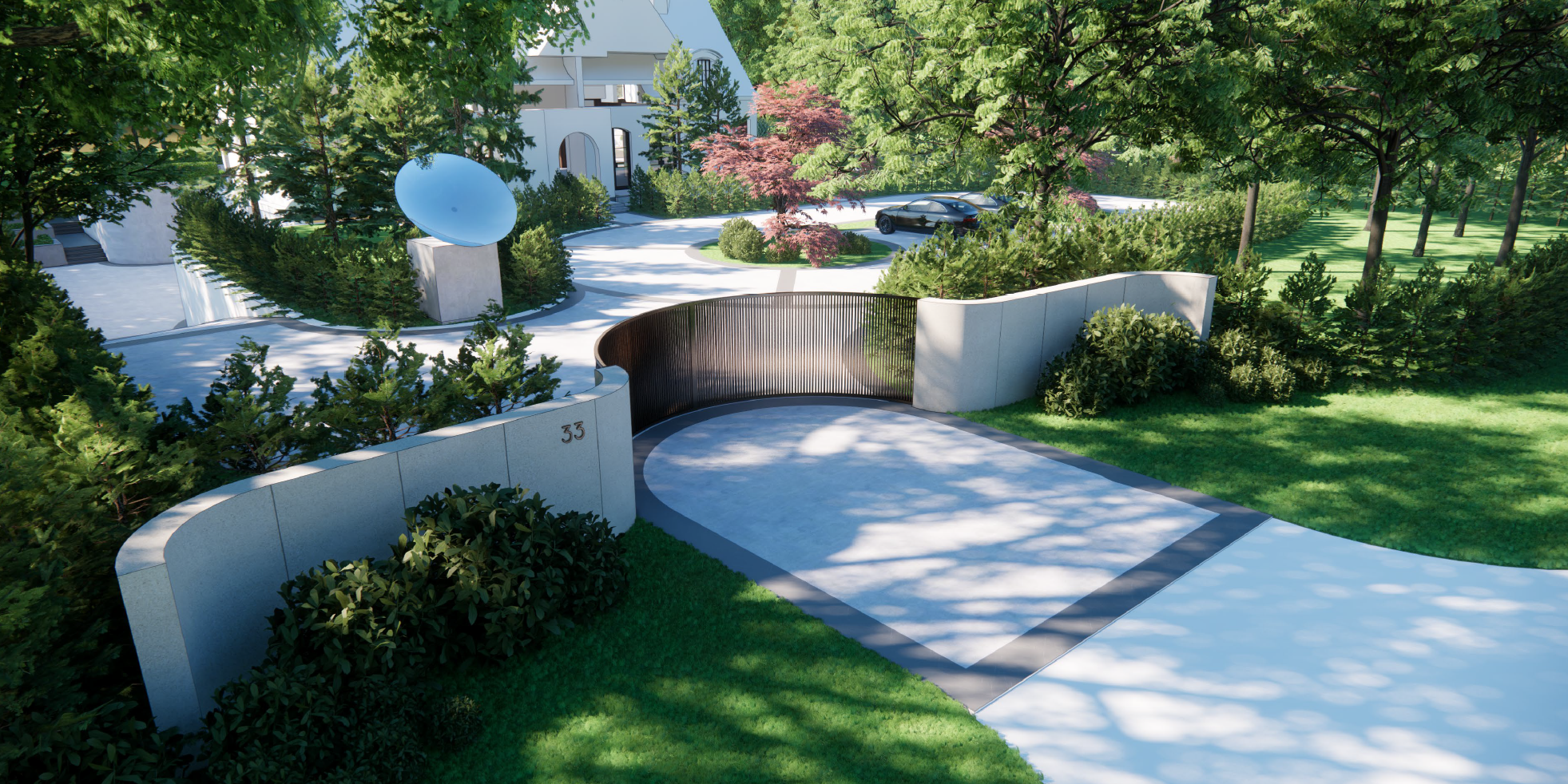 In the heart of Toronto's very exclusive Humber Valley comes a contemporary estate featuring innovative experiential programing and exquisite detailing.